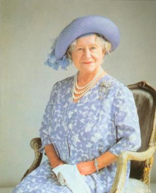 Elizabeth Bowes-Lyon Queen Mother